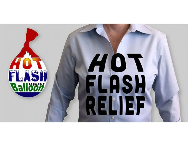 Hot Flash Balloon_Hot Flash Relief